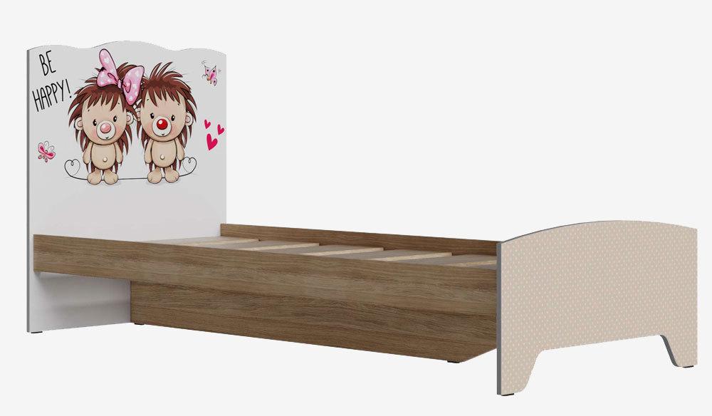 Кровать для детской Кр-31 Ёжики