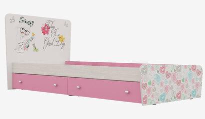 Кровать с ящиками Кр-32 для детской Алиса