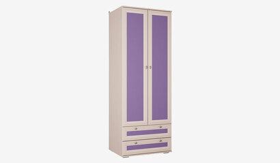 Шкаф для детской Бриз. Фиолетовый