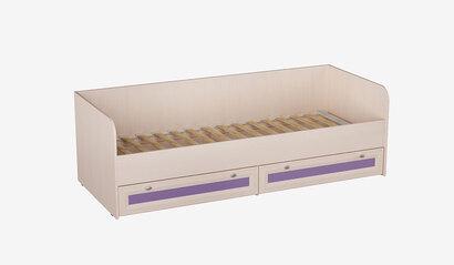Кровать для детской Кр-41 Бриз. Фиолетовый