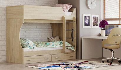Двухъярусная кровать Д2. Сонома