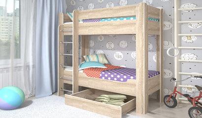 Двухъярусная кровать Мийя-4