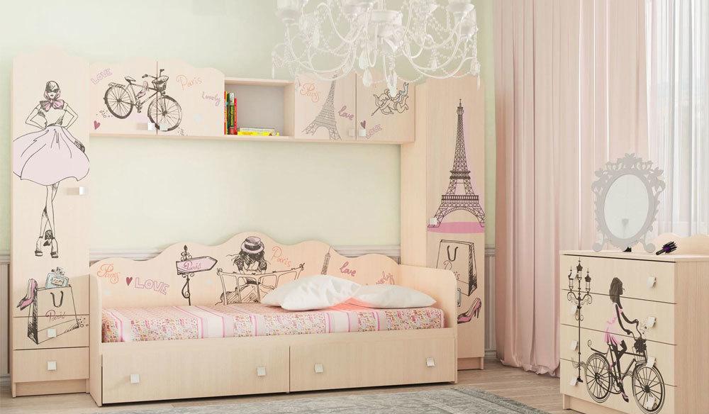 Детская Париж комплект 1