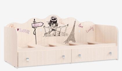 Кровать Кр-24 для детской Париж