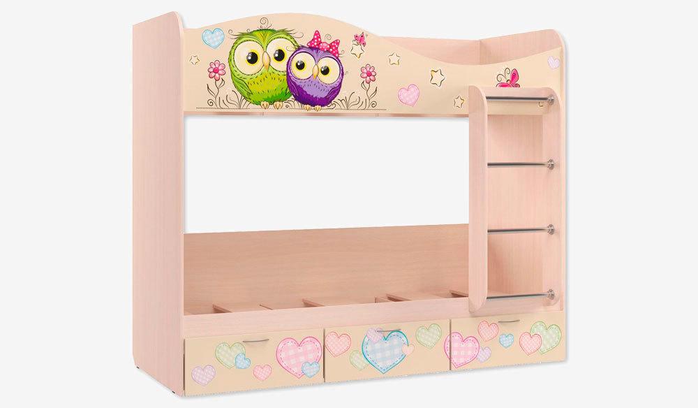 Кровать для детской КР-5 Совы