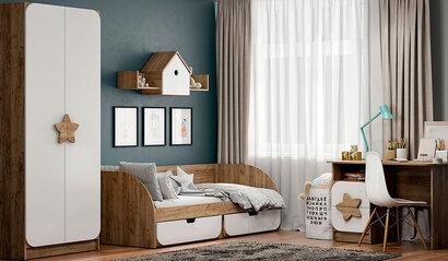 Коллекция детской мебели Колибри. Белый софт