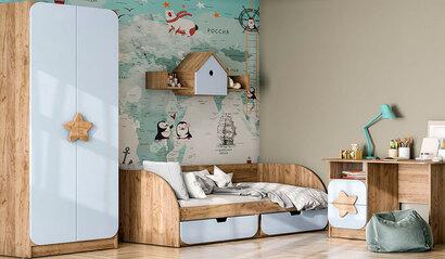 Коллекция детской мебели Колибри. Ниагара софт