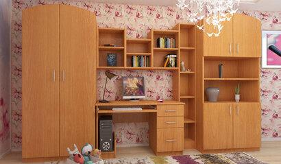 Стенка для детской комнаты Мишутка