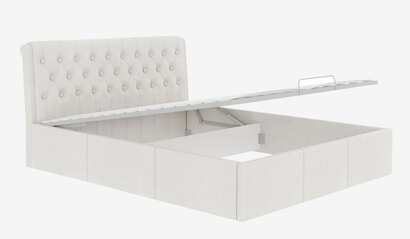 Кровать Дженни с подъёмным механизмом. Белая