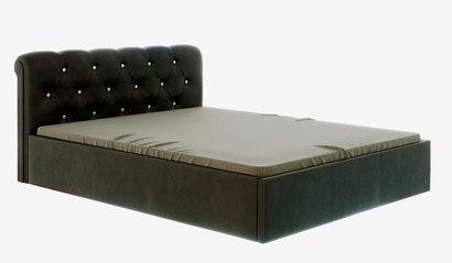 Кровать Калипсо с подъёмным механизмом. Коричневая