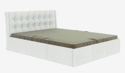 Кровать Лагуна с подъёмным механизмом. Белая