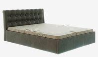 Кровать Лагуна. Коричневая