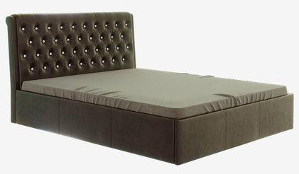 Кровать Прима. Коричневая
