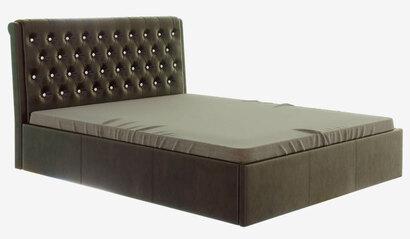 Кровать Прима с подъёмным механизмом. Коричневая