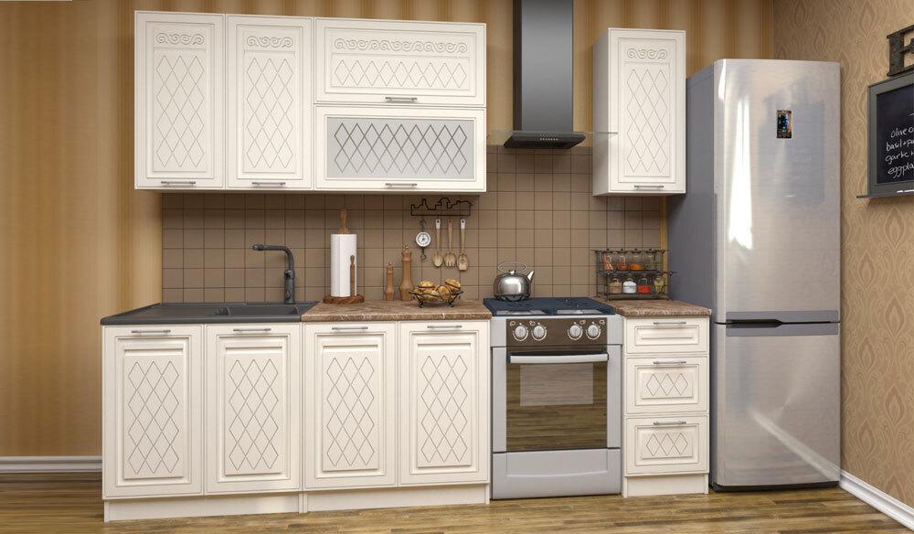 Кухня Рафаэлло 2.0. Горизонтальня