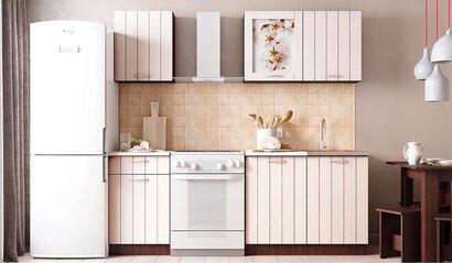 Кухонный гарнитур Легенда 16 (1.5) ПВХ