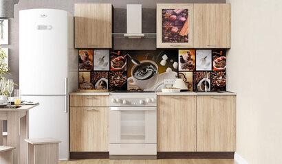 Кухонный гарнитур Легенда 16 (1.5) ЛДСП. Сонома