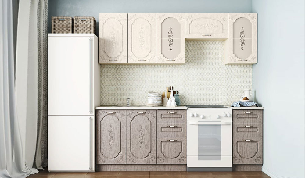 Кухонный гарнитур Легенда 1 (1.6)