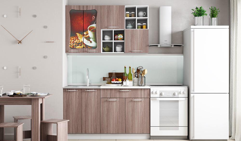 Кухонный гарнитур Легенда 11 (1.4). Ясень