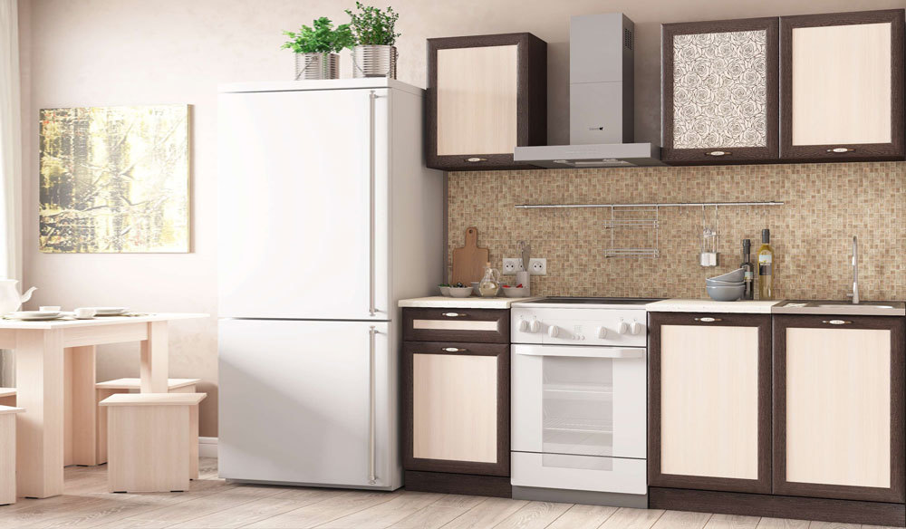 Кухонный гарнитур Легенда 26 (1.5). Венге