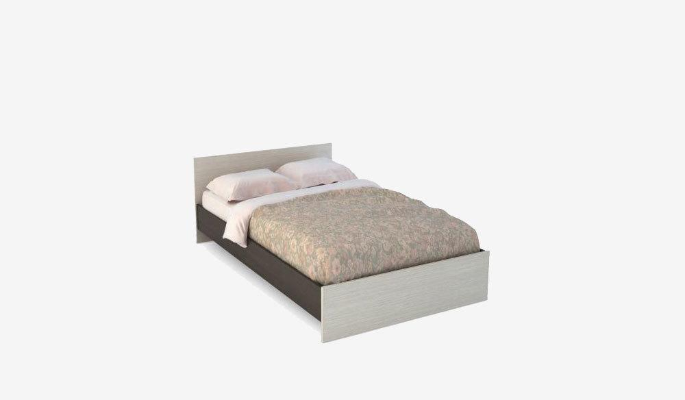 Бася Кровать 1,2  ЛДСП КР 556