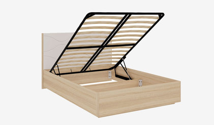 Кровать с подъёмным механизмом Зара 1.6 люкс