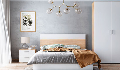 Модульная спальня Лайт. Комплект 3
