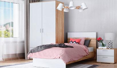 Модульная спальня Лайт. Комплект 1