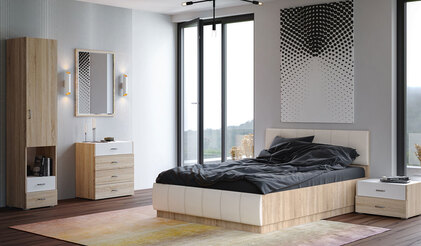 Спальня Линда. Комплект 1
