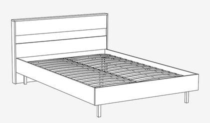 Кровать КР-801. Монако 1400