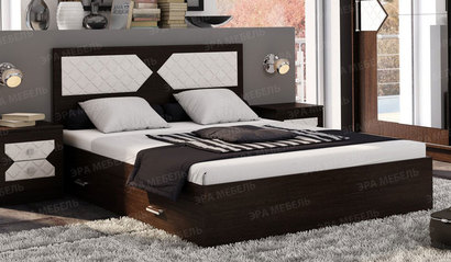 Кровать Николь 1.4. Венге