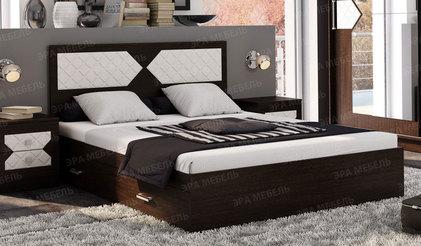Кровать Николь 1.6. Венге