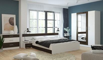 Спальня Леси. Комплект 1. Белый