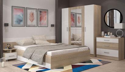 Спальня Леси. Комплект 1. Сонома
