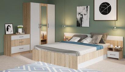 Спальня Леси. Комплект 2. Сонома