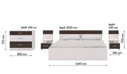 Спальня Леси. Белый