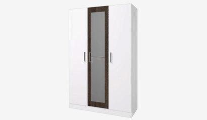 Шкаф 3-х дверный Леси. Белый