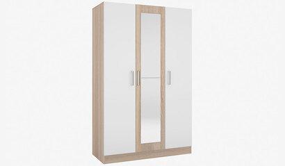 Шкаф 3-х дверный Леси. Сонома