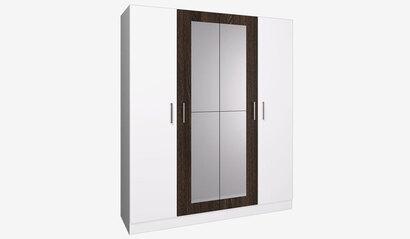Шкаф 4-х дверный Леси. Белый