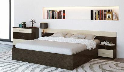 Спальня Леси. Дуб кантербери