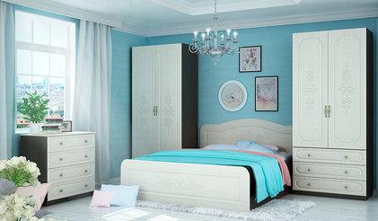 Спальня Эльза. Комплект 2. Венге