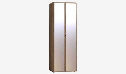Шкаф для одежды Nature 54 КОРПУС+ФАСАД Зеркало+Зеркало