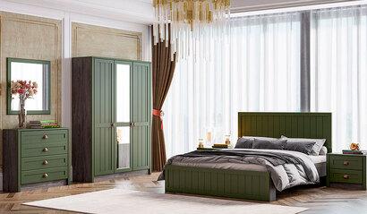 Спальня Прованс. Зелёный