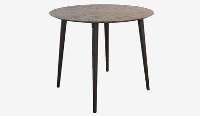 Стол обеденный Олимп 2. Тёмный