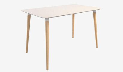 Стол обеденный Сканди 1. Белый