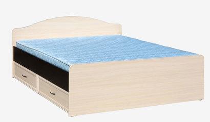 Кровать с ящиками 1600 Венге/Дуб