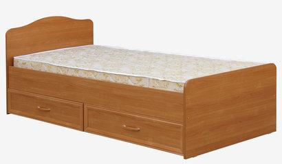 Кровать с ящиками 800 Вишня