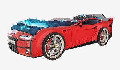 Детская кровать-машина Romack Kiddy красная