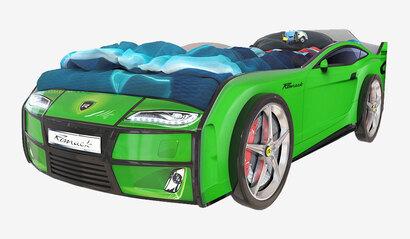 Детская кровать-машина Romack Kiddy зелёный