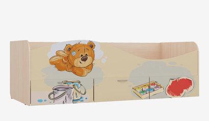 Кровать для детской Кр-3 Мишки